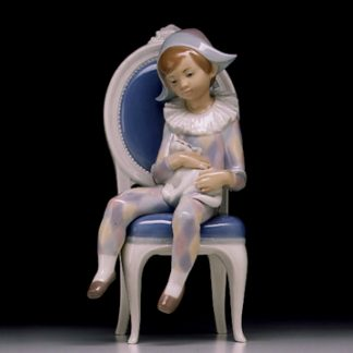 Lladro Young Harlequin. jpg